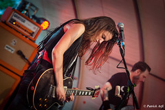 Leather and guitar (Patrick ARFI) Tags: laura cox rock country concert live music cars