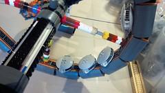 SHIPtember 2018 Day 9 (Swoosh Factor) Tags: lego ship shiptember spaceship wip