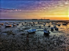 Atardecer en la Caleta (Cádiz) (José Angel Caballero) Tags: playa cadiz sunset atardecer lacaleta andalucía españa sun