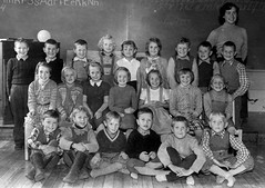 Class photo (theirhistory) Tags: boy children child kid girl school group class pupils students form teacher jumper trousers shirt shoes wellies boots