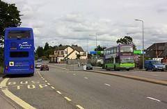 Bourne Bridge (Chris Baines) Tags: panther travel leyland olympian big 9249 parked up bourne bridge ipswich buses daf db 250 lowlander est lancs pf04 wml 92 service manningtree