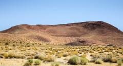 Red Hill (wyojones) Tags: california inyocounty littlelake redhill cindercone basalt scoria maroon red cinder ushighway395 roadside rosevalley coso volcanic field