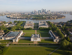 Greenwich (Harry Ball) Tags: london greenwich greenwichpark greenwichuniversity canarywharf docklands riverthames 2018 djimavicpro aerial