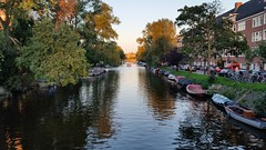 Sunset over canals of Amsterdam... (muscak) Tags: sunset amsterdam canals colours bridge