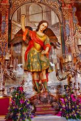 Spain: Granada, Iglesia de San Miguel Bajo (Henk Binnendijk) Tags: granada andalucia andalucía andalusia spain spanje españa satan saintmichael archangel iglesiadesanmiguelbajo church kerk eglise saintsandsinners