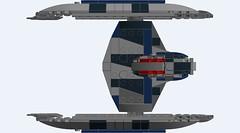 Vulture Droid-Final-TOP (IcarusBuilds) Tags: starwars clonewars lego ldd moc vultureclassstarfighter vulturedroid