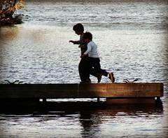 Boys at Vasona (I, Puzzled) Tags: vasona vasonalake vasonalakecountypark california losgatos losgatoscalifornia ipuzzled park lake instagram pdj2018