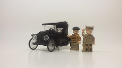 1920 Ford Model T - The Talk Of The Town (pontynex) Tags: lego 1920 ford model t runabout roadster vintage automobile 6 wide moc car stovetop black