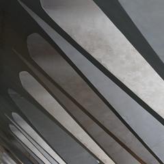 Sfumature di materia grigia. Shades of grey matter (Frammenti di valencia/Fragments of Valencia) (sandroraffini) Tags: museudelesciènciespríncipefelipe valencia urban details exploration abstract reality grey grigio shades sfumature canon eos80d 70200 santiago calatrava lines curves light shadow dim penombra monocromo naturale natural monochrome linee curve sandroraffini spagna spain prospettiva perspective