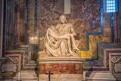 The Pietà by Michelangelo Buonarroti (JUNEAU BISCUITS) Tags: italy rome historical pieta michelangelo vatican stpetersburg renaissance