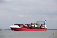 NAVI BALTIC (angelo vlassenrood) Tags: ship vessel nederland netherlands photo shoot shot photoshot picture westerschelde boot schip canon angelo walsoorden cargo container navibaltic