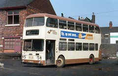 New arrival. (Renown) Tags: bus doubledecker daimler fleetline crg6lxb alexander stoniers berresfords tunstall stokeontrent garage nwa263k southyorkshirepte sypte