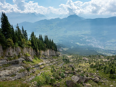Goldau landslide / Goldauer Bergsturz (lvalgaerts) Tags: goldau switzerland schweiz schwyz gnipen landslide rigi hike arth zug alps voralpen rossberg