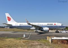 F-WWDS Airbus A320 Air China (@Eurospot) Tags: fwwds airbus a320 toulouse blagnac airchina b304e