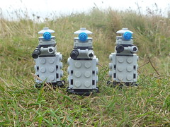 Landed. (Working hard for high quality.) Tags: lego doctor who dalek planet surface green adventure