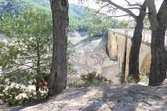 Reservoir of Ulldecona-La Senia in August 2018 (Marlis1) Tags: ulldecona montsia lasenia embalse stausee reservoir marlis1 catalonia spainespaña drought panasonictz91