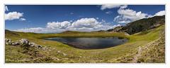 Drakolimni (dragon lake) of Smolikas mt. (MάNoS) Tags: landscape sky mountain grass field water lake dragonlake drakolimni nikon d300 epiruswestmacedoniagreece