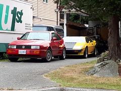 1991 Volkswagen Corrado (Foden Alpha) Tags: volkswagen corrado 660mka lotus esprit s1 s4 606nwn hd9274