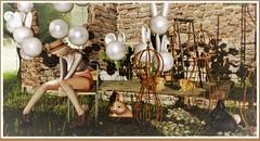 minamikaze180902-1 (minamikaze2010) Tags: whiteriverco cestlavie lepoppycock ultra pose furniture decoration keke balloon fameshed thearcadegacha plaaka birdy {anc} anhelo forest tree