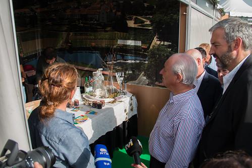 Rui Rio visita a AgroSemana
