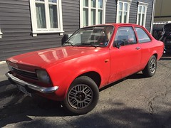1977 Opel Kadett (Older and rare cars in Norway) Tags: opel kadett 1977 carspotting norway