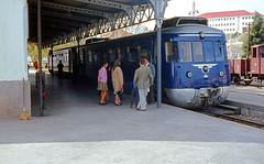CP 9300 (Allan), Bragança, Portugal, 1970 (filhodaCP) Tags: comboiosdeportugal railcar diesel cp9300 cp ferroviário museuferroviário narrowgauge automotora metregauge metergauge viametrica viaestrecha viaestreita linhadotua