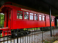 Mammoth Cave Railway Car (Gypsy With a Day Job) Tags: united states parks usa mammoth cave national park us nps