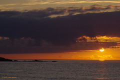 "3KB08887a_C (Kernowfile) Tags: porthmeorbeach stives cornwall clouds water sea waves rocks sky sunset ""pentaxflickraward"" pentax"
