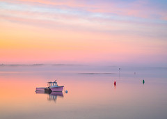 Pastel Sky (BenjaminMWilliamson) Tags: baileyisland clouds coast colorful harspwell image landscape lobsterboat me maine newengland ocean pastels photo photograph photography prints reflections scenery scenic sea sky summer sunset twilight usa water coastal