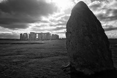 The time has come (stonehendge) (siraf72) Tags: iphone iphone6s iphoneography stonehenge black white druids