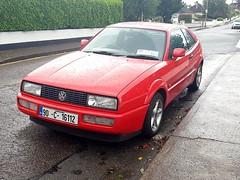 1990 Volkswagen Corrado 1.8 16v (Ross.K) Tags: 1990 volkswagen corrado 18 16v red 90c16112 coupe vw a2 kr