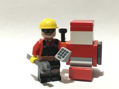 Practical Problems (Tanerine25) Tags: tf2 engie engineer lego