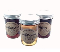 Beer Jelly (globalepro) Tags: beer beerjelly jarsofbeerjelly jelly porter setof3 stout