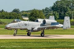 USAF A-10C landing (Matthisphotography) Tags: a10 thunderboltii warthog brrrrt fairchildrepublic fairchild hog usaf oshkosh