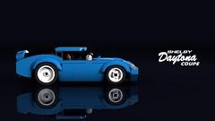 Shelby Daytona Coupe (THIRMO) Tags: thirmo vonerics lego moc 6wide cityscale shelby daytona coupe 1965 fia wsc worldsportscarchampionship ldraw povray