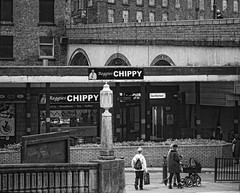Reggies Chippy (JEFF CARR IMAGES) Tags: stockport northwestengland towncentres greatermanchester cheshire