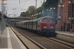 Mietlok V160 002 te Lingen (vos.nathan) Tags: mietlok v160 002 westfalendampf lingen pruisische t18 78 468 br baureihe deutsche bundesbahn