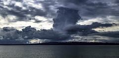 Face in the clouds (Tony Tomlin) Tags: whiterockbc britishcolumbia canada southsurrey washingtonstate storm cumulus sky ocean sea boundarybay