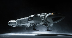 The Breakaway Day Run (Avanaut) Tags: space1999 eagletourer eagletransporter miniature scalemodel toy toyphotography originality avanaut breakawayday moon spaceship
