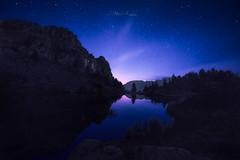Heure bleue au Col de l'Infernet (Stéphane Sélo Photographies) Tags: chamrousse coldelinfernet france isère lacachard pentax pentaxk3ii sigma1020f456 blending bluehour heurebleue landscape montagne