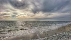 Wolkenspiel.... (D.Purkhart) Tags: wolken clouds norderney nordsee deutschland see