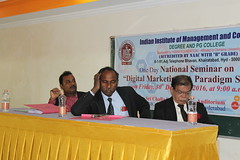 IMG_1471 (D Hari Babu Digital Marketing Trainer) Tags: national seminar digital marketing iimc hyderabad