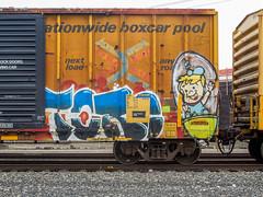 (gordon gekkoh) Tags: toro mta freight graffiti