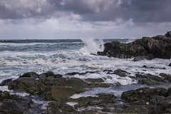 22. september 2018_6102123 (ellenmaynielsen) Tags: ferkingstad karmøy storm waves water sea