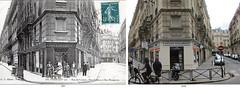 Things I see while riding my bike around Paris 822 (Rick Tulka) Tags: paris parishieretaujourdhui parisyesterdayandtoday architecture building boulangerie bakery