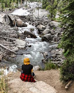 Ani Watches Crazy Creek Falls