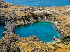 St Paul's Bay, Lindos, Rhodes (PG63) Tags: rhodos july greece grekland huaweip20pro rhodes juli lindos decentralizedadministrationof decentralizedadministrationoftheaegean gr