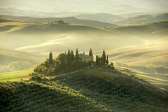 A Tuscan Classic (Tracey Whitefoot) Tags: tracey whitefoot summer august 2018 tuscany toscana val dorcia italy europe san quirico podere belvedere siena sunrise dawn misty mist morning landscape