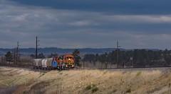 Late Winter Local (Erik C. Lindgren) Tags: coloradojointline bnsfjointline railway railroad train local jointline bnsfrailway bnsf colorado coloradorailroads coloradotrains