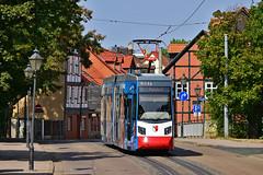 Leoliner NGTW6-H #2 HVG Halberstadt (3x105Na) Tags: leoliner ngtw6h hvg halberstadt strassenbahn strasenbahn tram tramwaj deutschland niemcy germany 2